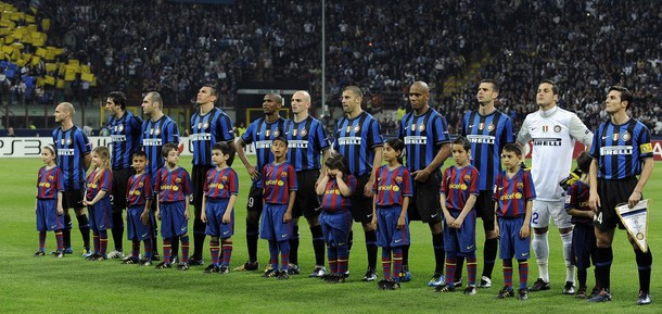 Inter Milan v Barcelona - UEFA Champions League